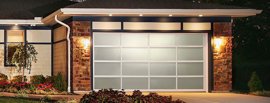 Contemporary Collection Aluminum Series. Home Residential Garage Doors ...