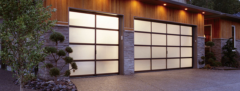 Contemporary Collection Aluminum Series Holmes Garage Door Company