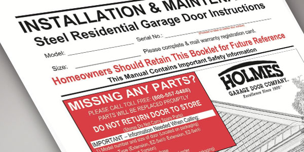 All categories erogonproductions - Garage door installation instructions ...