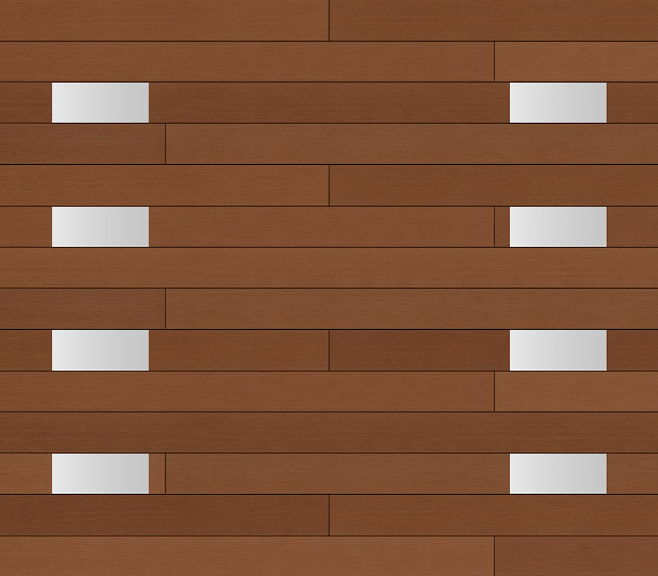 Glenmoor Collection Modern Series Holmes Garage Door